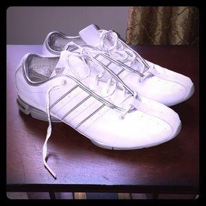 Adidas White Tennis Shoes Women's Size 9.5